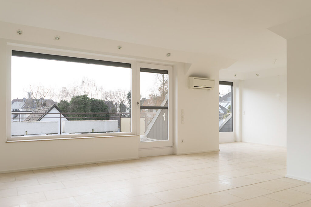 Wohnung vor dem digitalen Home Staging
