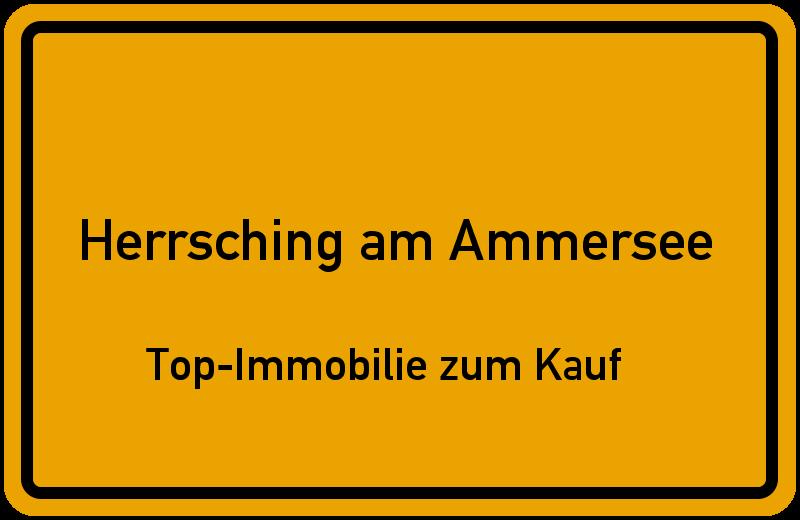 Ortsschild Herrsching